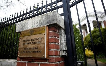 On Wednesday, U.S. officials broke into the residence of Russia