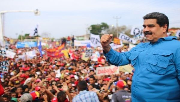 During his speech, Maduro vowed to heal the nation