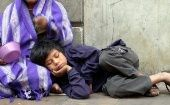 More than 20 million children and teenagers live in poverty in Mexico. December 9, 2004. Mexico City,