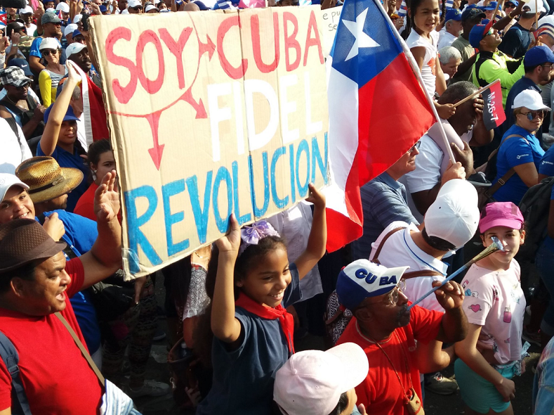 """I am Cuba, Fidel, Revolution"