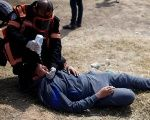 Almost 2,000 of the injured protesters were shot by Israeli sniper fire.