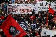 Workers March in Europe for May Day