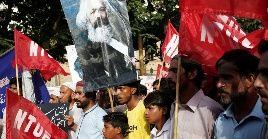 """""""El motor de la historia es la lucha de clases"""", afirmó Marx en el Manifiesto Comunista."""