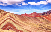 The Rainbow Mountain, or Vinicuna.