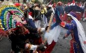In Mexico City, history comes alive with a re-enactment of the historical Battle of Puebla.