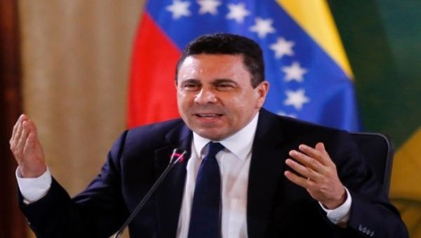 The official demanded from the U.S. Government respect for the peoples of Latin America
