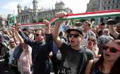 Hungary: Protesters Reject Re-Election Prime Minister Orban, Lack of Media Freedom