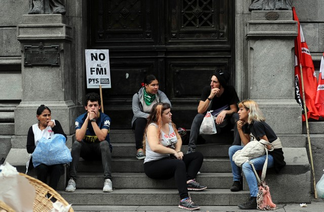The IMF-induced crisis left one in five Argentines without a job, while the country