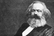 German philosopher and communist ideologue Karl Marx.