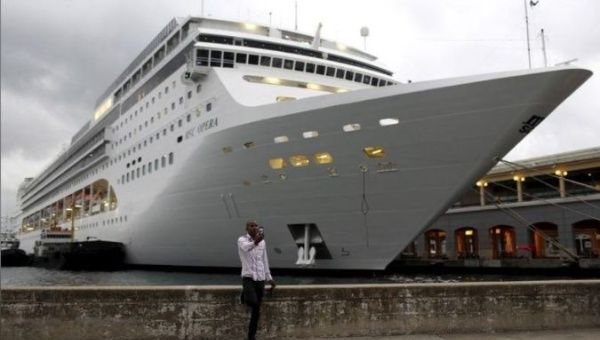 At least 177,000 people arrived in Cuba by sea last year, mostly traveling on foreign cruise lines.