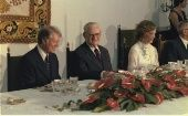 Ernesto Geisel, President of Brazil, hosts a State Dinner for Jimmy Carter and Rosalynn Carter. March 29, 1978