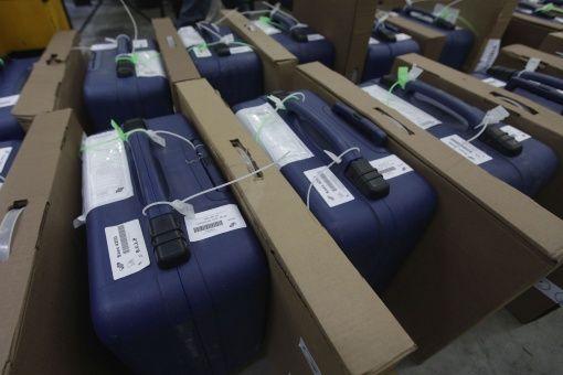 Este viernes serán instaladas las máquinas de votación en todo el territorio como parte del cronograma electoral.