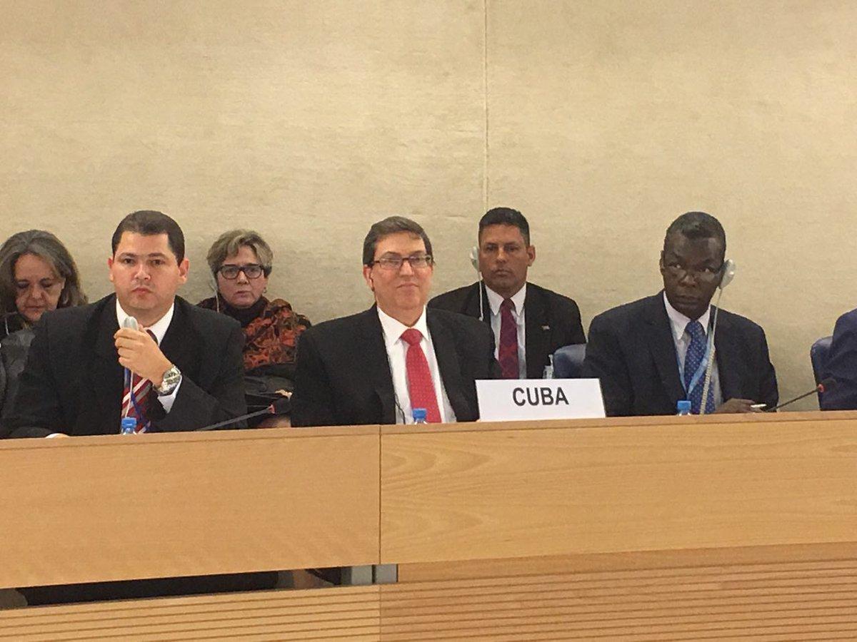 Ratifica Cuba garantía de los derechos humanos (+ Audio)