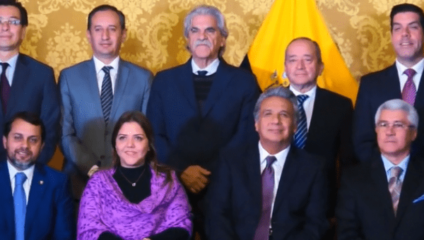 Ecuadoru0027s Moreno Appoints New Ministers In Cabinet Reshuffle