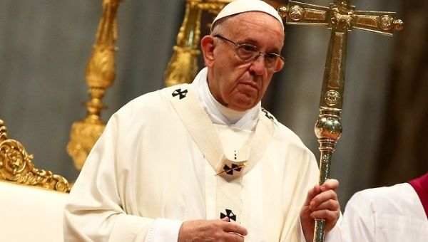 "In a letter to the Chilean monsignors, the pope said he had some ""changes and resolutions"" planned for the church."