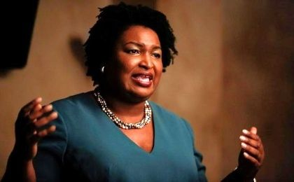 Abrams aims to end the party drought. A Democrat has not been elected governor of Georgia since 2003.