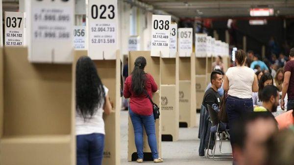 Resultado de imagen para elecciones colombia