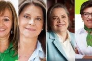 Colombia's four female vice-presidential candidates