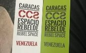 "Venezuela is presenting its urban planning exhibition ""Rebel Space"" in Venice."