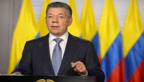 El jefe de estado hizo el anuncio desde la Casa de Nariño en Bogotá.