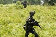 Ecuador has increased military and police operations in the northern border area with Colombia following recent attacks.