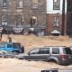 Muchos habitantes de las localidades afectadas subieron videos a sus redes sociales para dar cuenta de la gravedad de la situación.