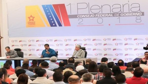 The Venezuelan president reiterated the call for a great national dialogue with all the country