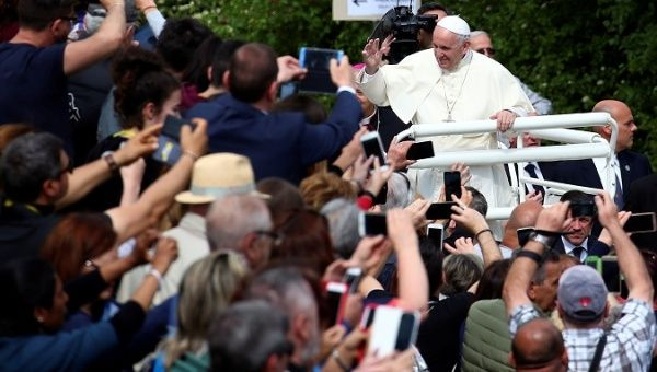 Pope Francis said that to overcome the culture of abuse requires a unified effort by both church and congregation.