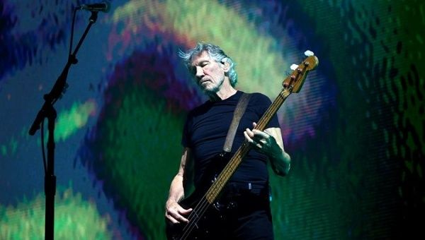 Roger Waters performing in Zurich, Switzerland, May 28, 2018.