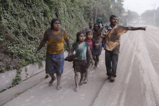 México activó los protocolos de atención y protección para prestar colaboración en Guatemala.