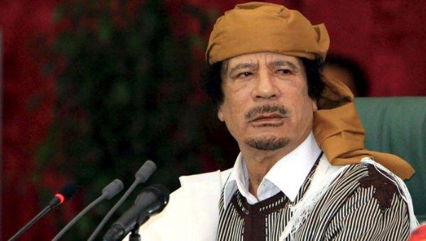 Resultado de imagen de Gadafi
