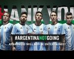The BDS movement thanked the Argentine team for not entertaining apartheid.