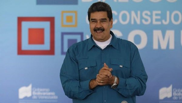 """I forgive my enemies and I ask for justice; I put up my hand and call for a great peace and a great national dialogue,"" Maduro said."