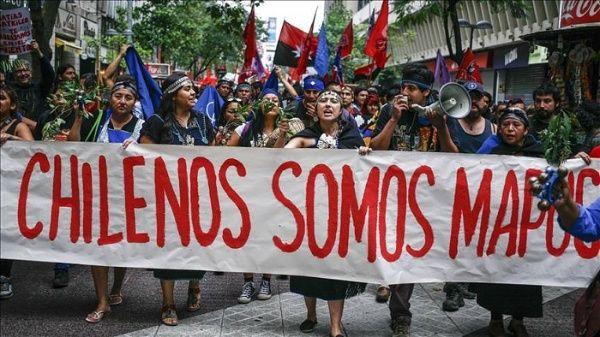 Resultado de imagen para racismo en chile mapuches