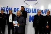 The catholic church is attempting to secure a peaceful resolution to Nicaragua's political crisis.