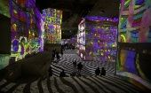 Picasso Illuminates Former Quarry Walls in France