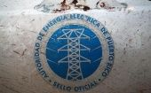 The logo of the Puerto Rico Electric Power Authority (PREPA) is seen in Dorado, Puerto Rico January 22, 2018.
