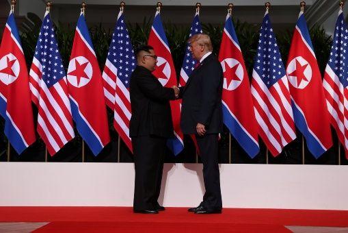 El anuncio de la reunión de ambos mandatarios se realizó luego del encuentro histórico entre las dos Coreas.