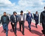 Evo Morales' visit to Russia is part of an international tour, in which he will also visit Holland and China.