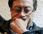 Left-wing presidential candidate Gustavo Petro.