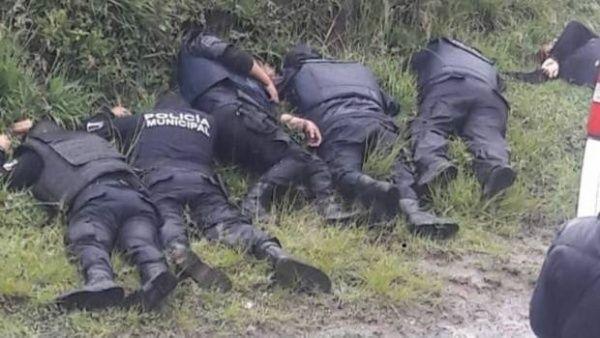 A losoficiales asesinados les fueron sustraídas sus armas de reglamento.