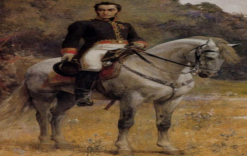 """Sus obras quedaron inmortalizadas en la memoria de los venezolanos ya que en sus cuadros plasmó la historia libertaria de su nación. Este cuadro denominado """"Retrato ecuestre de Bolívar"""", creado en 1888, es un ejemplo."""