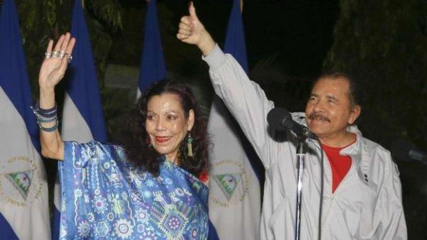 Rosario Murillo, esposa de Daniel Ortega, se refirió también al reciente ataque terrorista que dejó dos niños fallecidos.