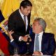 El ministro de Economía y Finanzas de Ecuador negó un acuerdo crediticio con el FMI, perono lo descartó para un futuro.