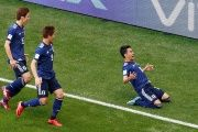 It was sweet revenge for Japan, who were thumped 4-1 by Colombia in Brazil four years ago.