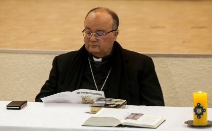 "Over the last week, Archbishop Charles Scicluna traveled with Fr. Jordi Bertomeu, conducting ""hundreds"" of interviews with Chlie's abuse victims."