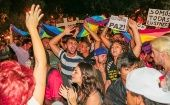Protest against LGBT-phobia in Brazil.