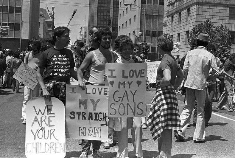 The first lgbt parade in the United States took place in New York City in 1970, one year after the Stonewall riots. Their western coast cousins in San Francisco echoed the movement in 1977.