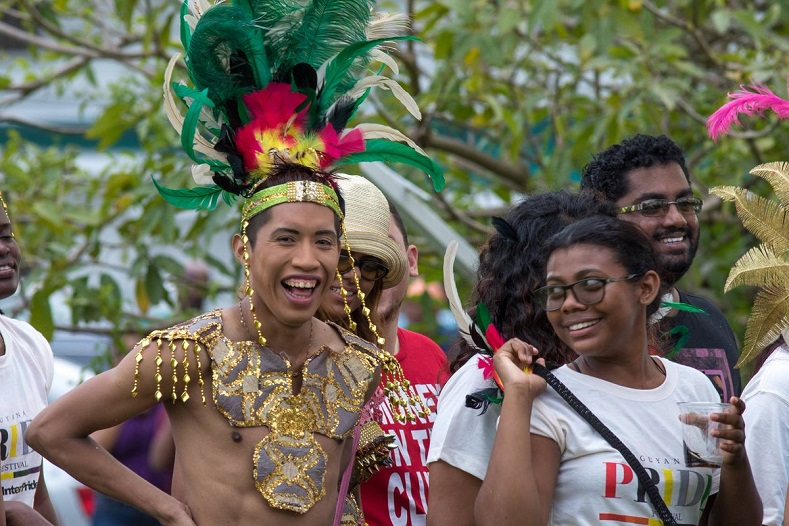"Guayana celebrated its first gay parade on June 3, 2018. According to Guayana Trans United, a community of transgenders, ""The influence of Jamaica Homophobic music has been impacting the hate in Guyana."""