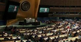 En la Asamblea General votan todos los Estados miembros de la ONU.